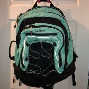 Ll bean Backpack and organizer